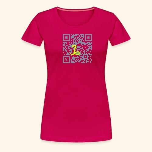 MARTINIQUE QR CODE T-SHIRT - T-shirt Premium Femme