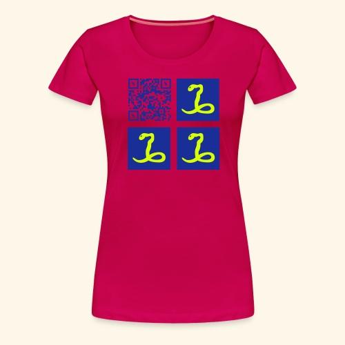 MARTINIQUE QR CODE FLAG - T-shirt Premium Femme