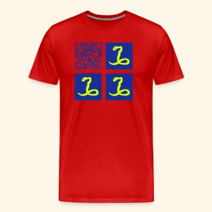 MARTINIQUE QR CODE FLAG - T-shirt Premium Homme