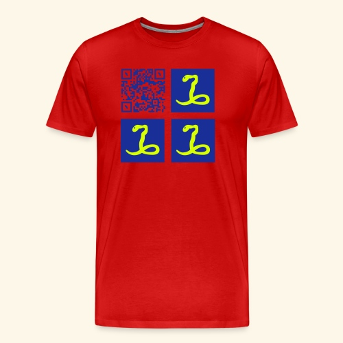 MARTINIQUE QR CODE FLAG - T-shirt Premium Homme