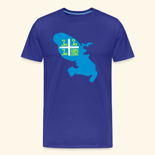 MARTINIQUE QR CODE tshirt - T-shirt Premium Homme