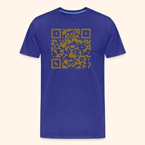 MARTINIQUE QR CODE COLIBRI - T-shirt Premium Homme