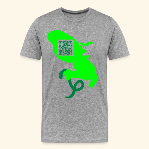 MARTINIQUE QR CODE MAP - T-shirt Premium Homme