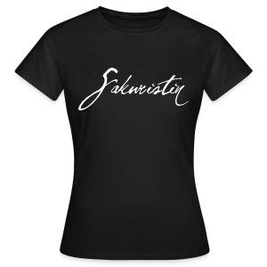 Frauen T-Shirt Sakuristin - Frauen T-Shirt