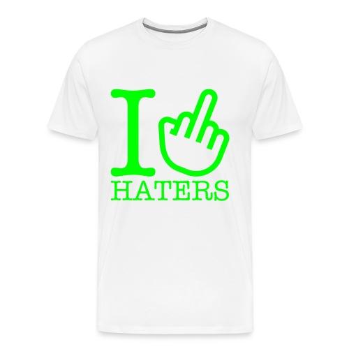 T-shirt- Haters  - Maglietta Premium da uomo