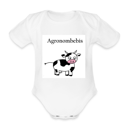 Agronombebis - Ekologisk kortärmad babybody