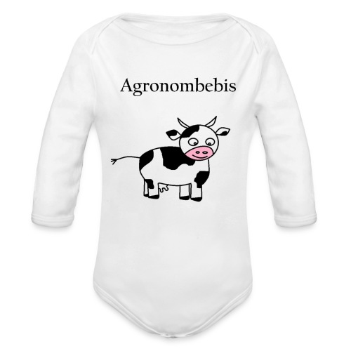 Agronombebis - Ekologisk långärmad babybody