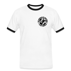 The world of Football is my world - Men's Ringer Shirt