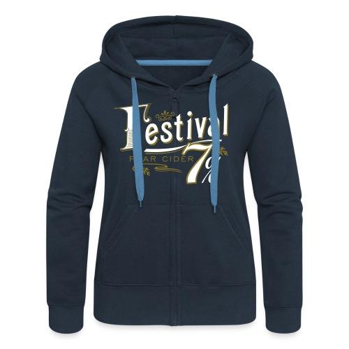 Ladies Zip Hoodie - Women's Premium Hooded Jacket