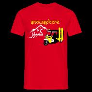 T-Shirts ~ Men's T-Shirt ~ Snowboard Kashmir Ricksaw