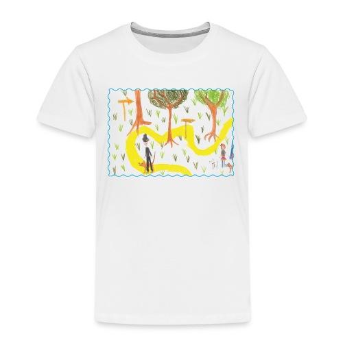 Kinderzeichnung I - Kinder Premium T-Shirt