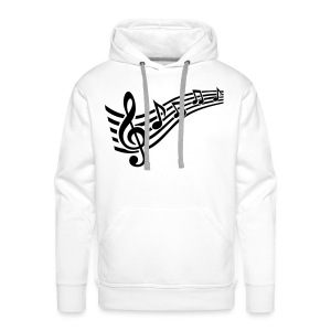 Music notes - Men's Premium Hoodie