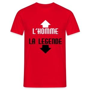 Homme ou légende ?  - T-shirt Homme