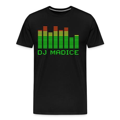 DJ Madice equalizer - Mannen Premium T-shirt