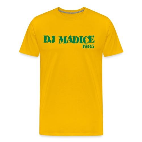 DJ Madice 1985 - Mannen Premium T-shirt