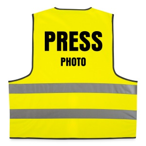 Gilet Press - Photo - Gilet catarifrangente
