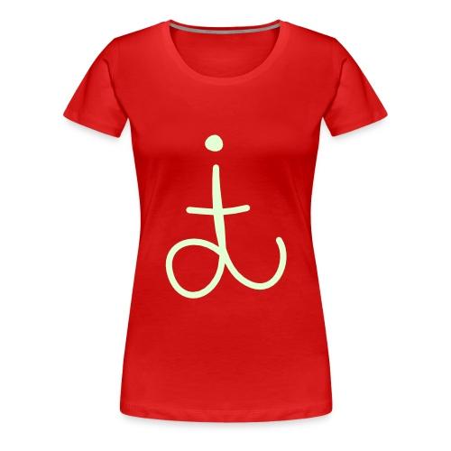 dit original - glow in the dark - Women's Premium T-Shirt