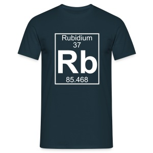 Rubidium (Rb) (element 37) - Full 1 col Shirt - Men's T-Shirt