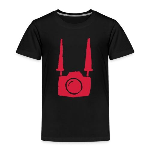 Camera on body - Black - Maglietta Premium per bambini