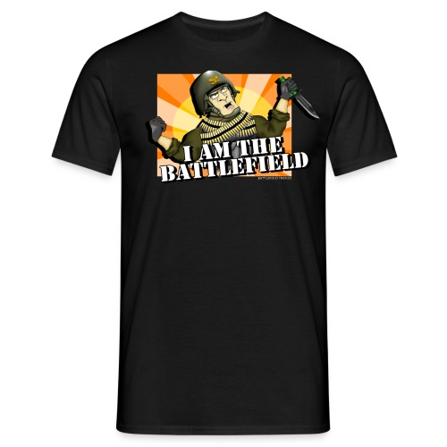 I AM THE BATTLEFIELD - Men's T-Shirt