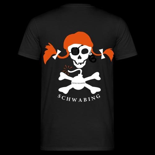 pipilotta und die schwabinger bombe - Männer T-Shirt
