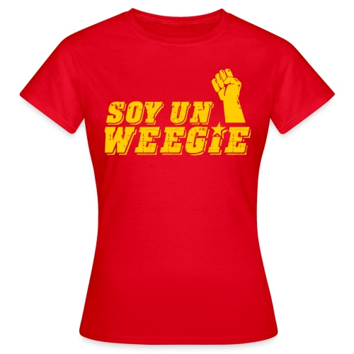 Soy Un Weegie - Women's T-Shirt