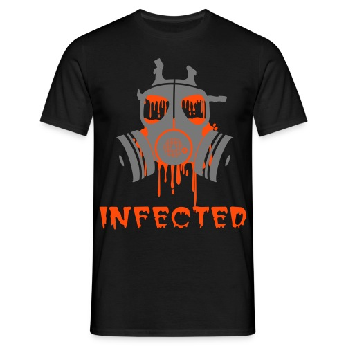 camiseta basis infected - Camiseta hombre