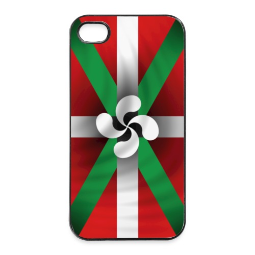 Drapeau basque - coque iPhone - Coque rigide iPhone 4/4s