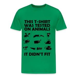 Tested On Animals - Men's Premium T-Shirt