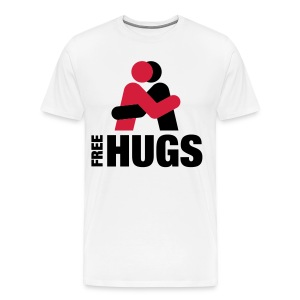 FREE HUGS! - Men's Premium T-Shirt