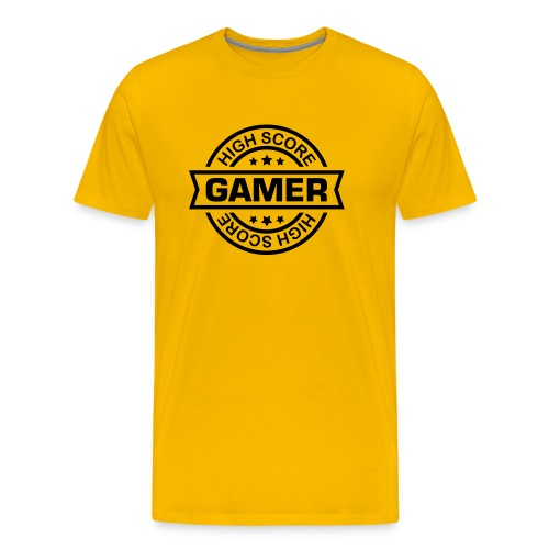 GAMER T-SHIRT - Men's Premium T-Shirt