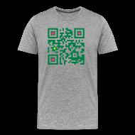 T-Shirts ~ Men's Premium T-Shirt ~ MACAU GEEK T-SHIRT QRCODE