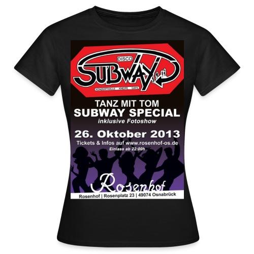 Party Shirt 2013 FRAUEN Frontprint - Frauen T-Shirt
