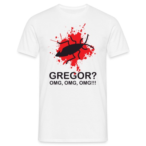 OMG, Gregor Samsa is dead! - Men's T-Shirt