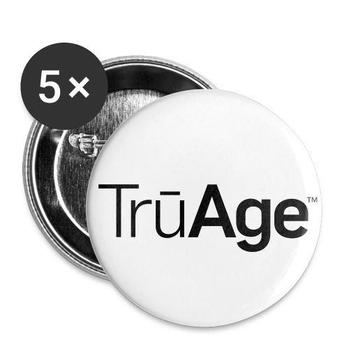 TruAge_Button - Buttons groß 56 mm (5er Pack)