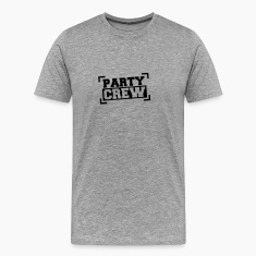 Party Crew Stamp T-shirts