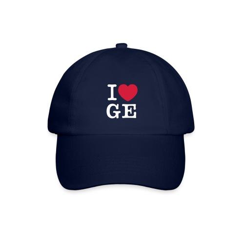 Basball Cap I  love GE - Baseballkappe