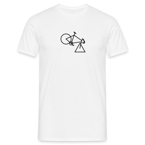 tri-cycle (black) - Men's T-Shirt