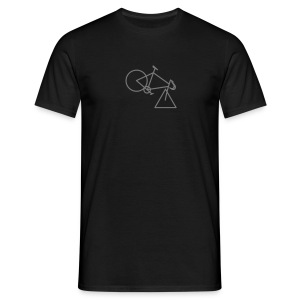 tri-cycle (grey) - Men's T-Shirt