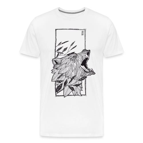 Der Bär - Männer Premium T-Shirt