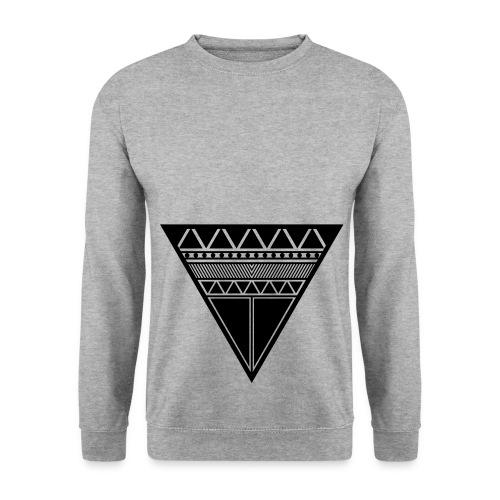 Reverse Triangel Sweater - Männer Pullover