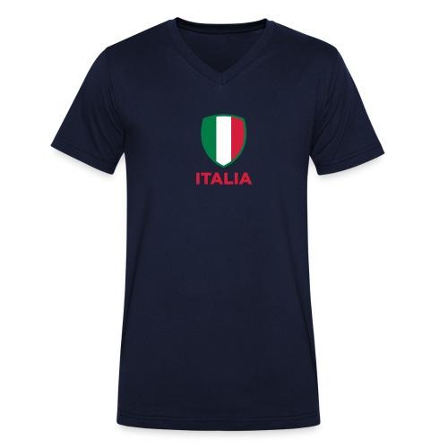 Italia Men V-hals - Mannen bio T-shirt met V-hals van Stanley & Stella