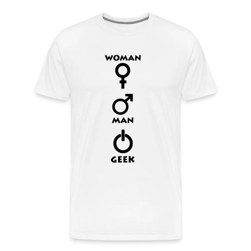 Geek Attitude 1 - T-shirt Premium Homme