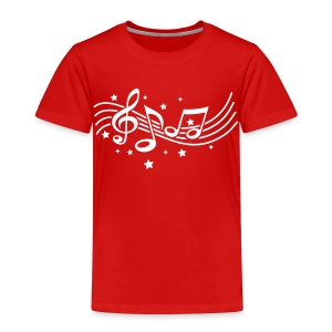 Music and stars - Kids' Premium T-Shirt