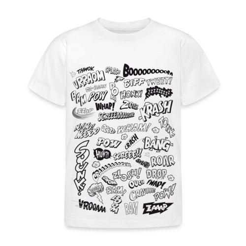 Comic words - Kids' T-Shirt