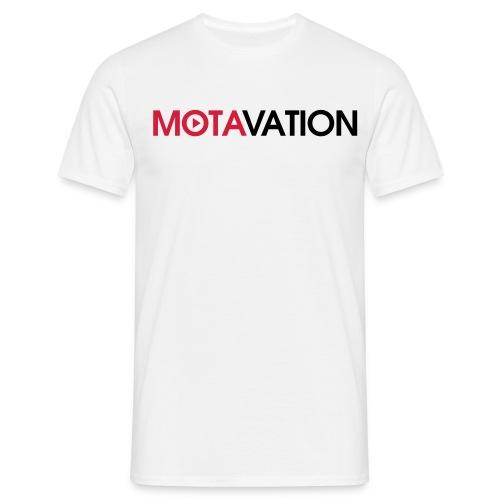 Motavation Shirt WT - Men's T-Shirt