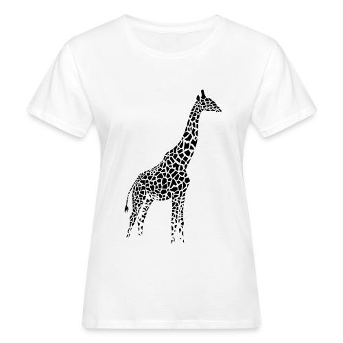 White giraffe shirt - Women's Organic T-Shirt