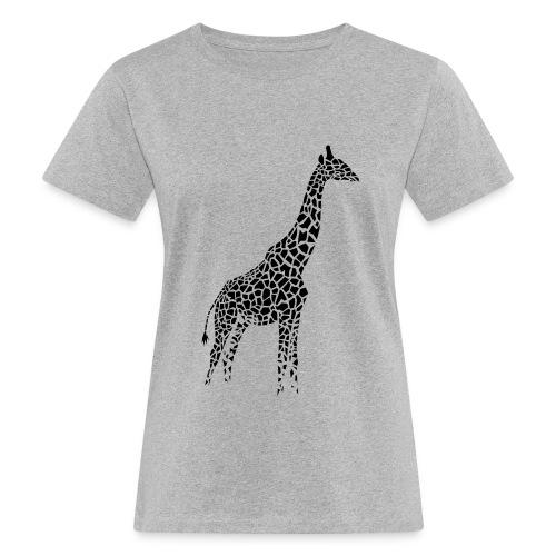 Grey giraffe shirt - Women's Organic T-Shirt