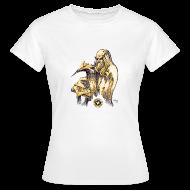 T-Shirts ~ Women's T-Shirt ~ Women's Leonardo paper plane T Shirt
