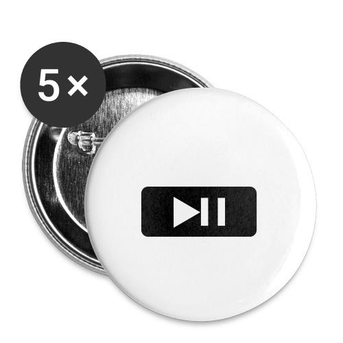 play music - Rintamerkit isot 56 mm (5kpl pakkauksessa)